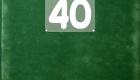 zöld velúrpapír